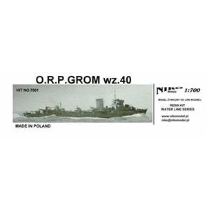Destroyer Grom wz.40
