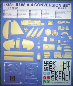 Kit de conversion JU.88 A-4 1/32