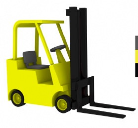 Hyster S50B Forklift 1/350 x4